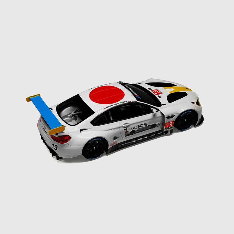 BMW MINIATUR.M6 GTLM ART CAR JBALDESSARI - hi-res