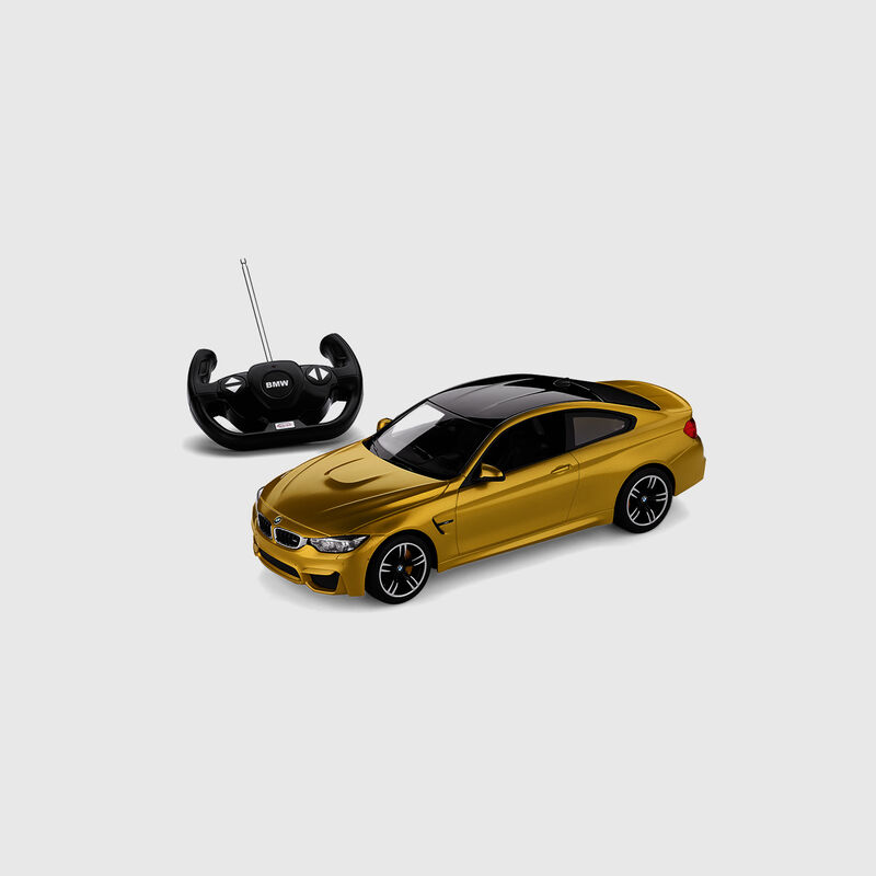 BMW TOY CAR RC MINIATURE M4 COUP - hi-res