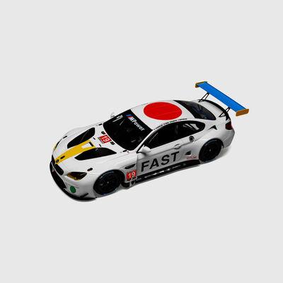 1:18 John Baldessari BMW M6 GTLM Miniatur