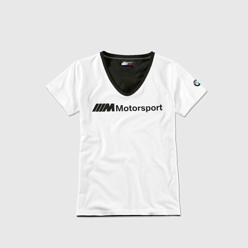 BMW M MOTORSPORT T-SHIRT WOMENS LOGO - hi-res